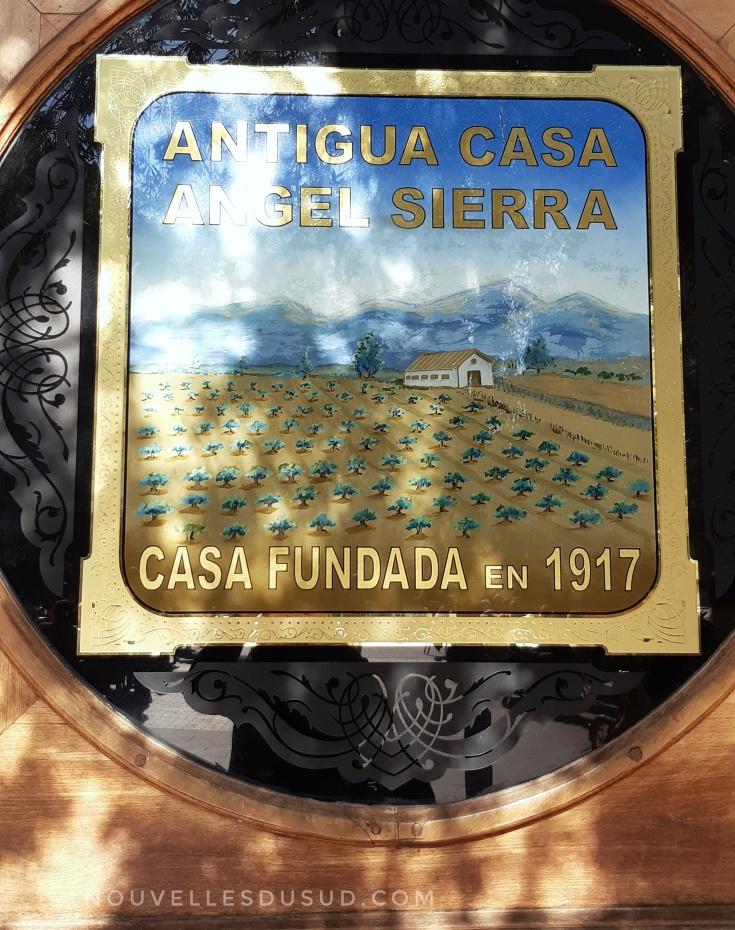 Devanture Taberna de Angel Sierra
