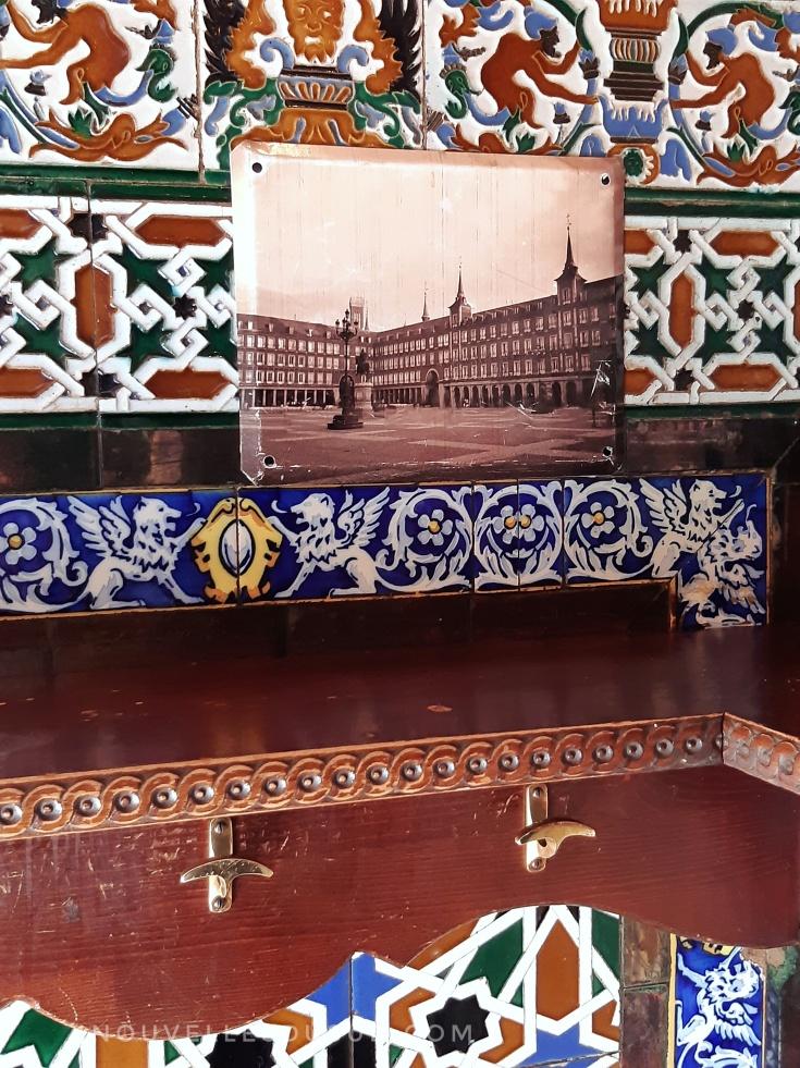Mosaique de la taberna Angel Sierra
